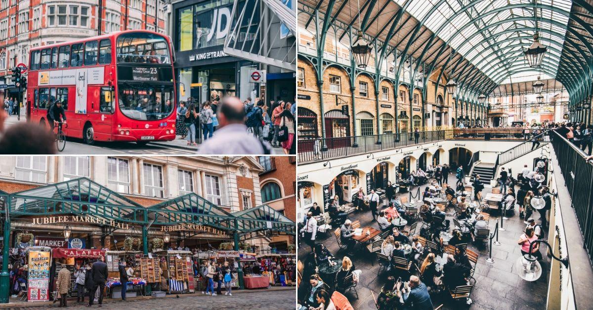 สถานที่ช้อปปิ้งในลอนดอน