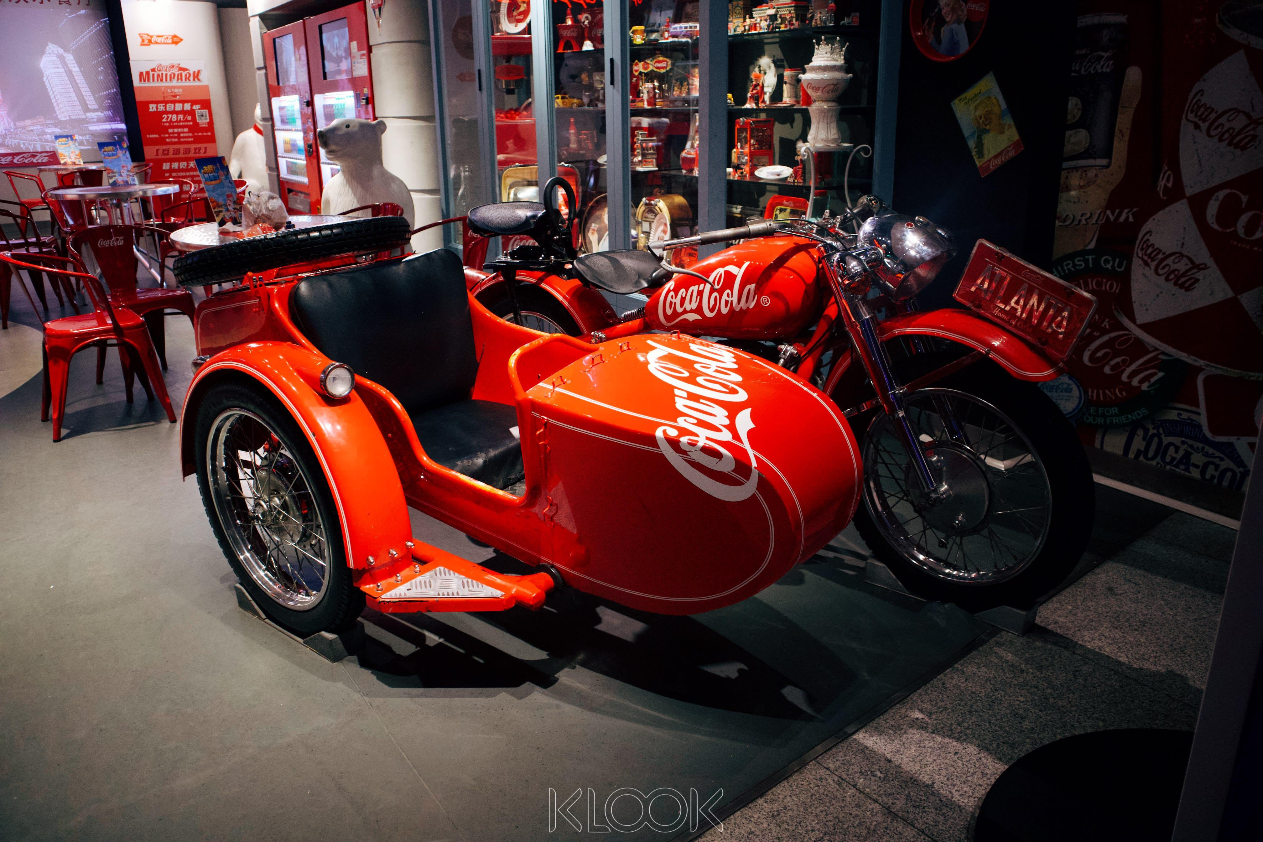 บัตรเข้า coca cola cafe เซี่ยงไฮ้