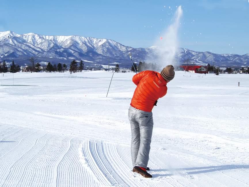 เล่นหิมะที่ bibai snowland