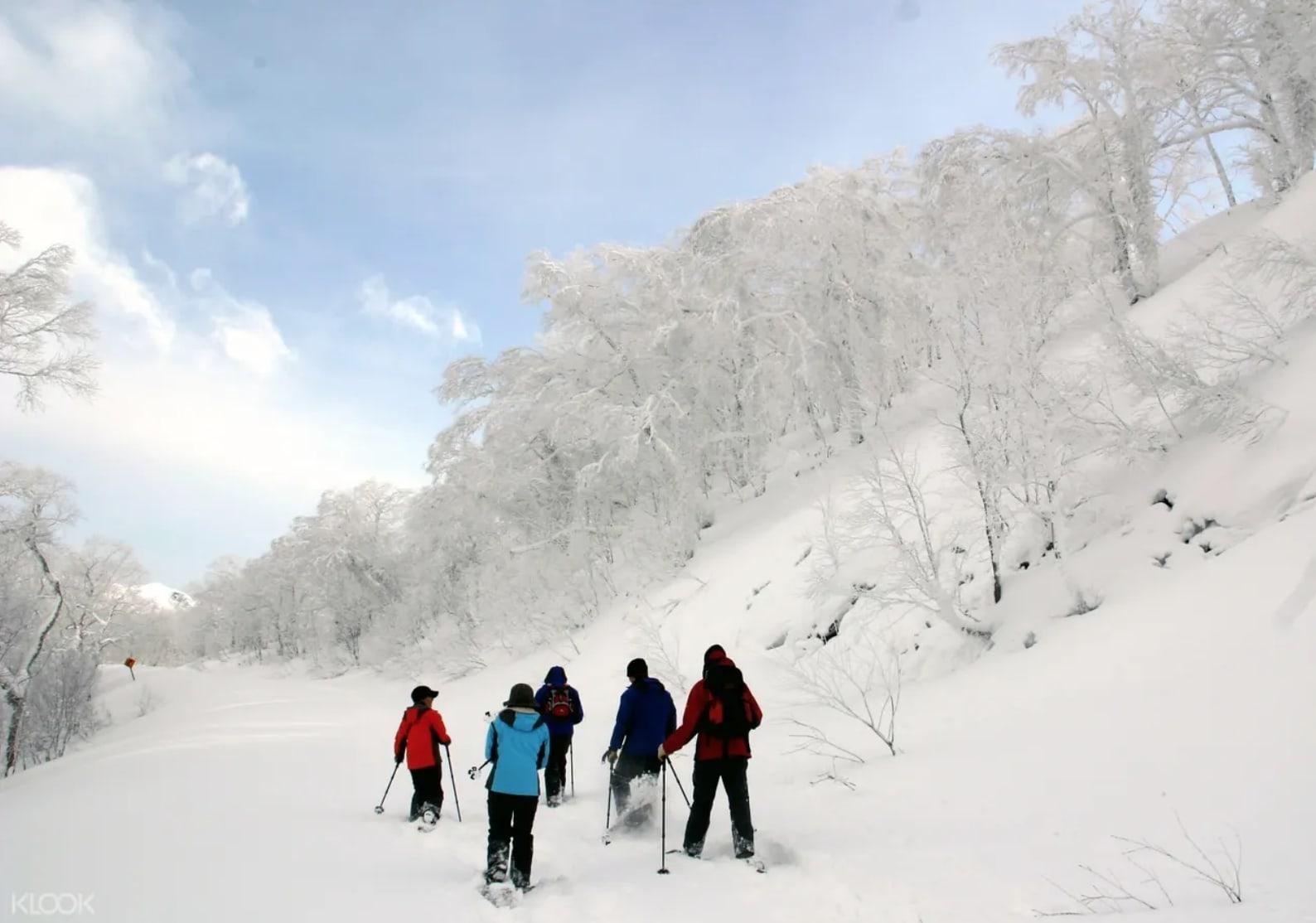 ทริป snow master ในเมือง noboribetsu