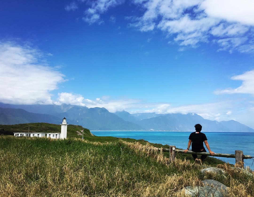 「奇萊鼻燈塔」是個私房觀海祕境。(圖片來源/Instagram-stan.xu)