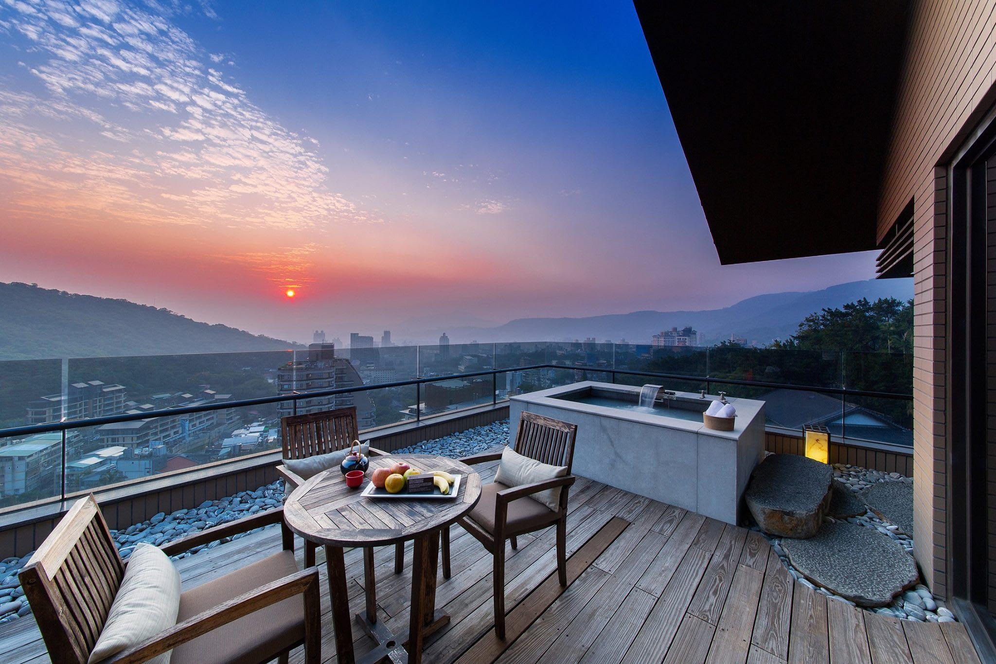 「麗禧套房」擁有絕佳觀景視野。(圖片來源/北投麗禧溫泉酒店FB粉絲團)