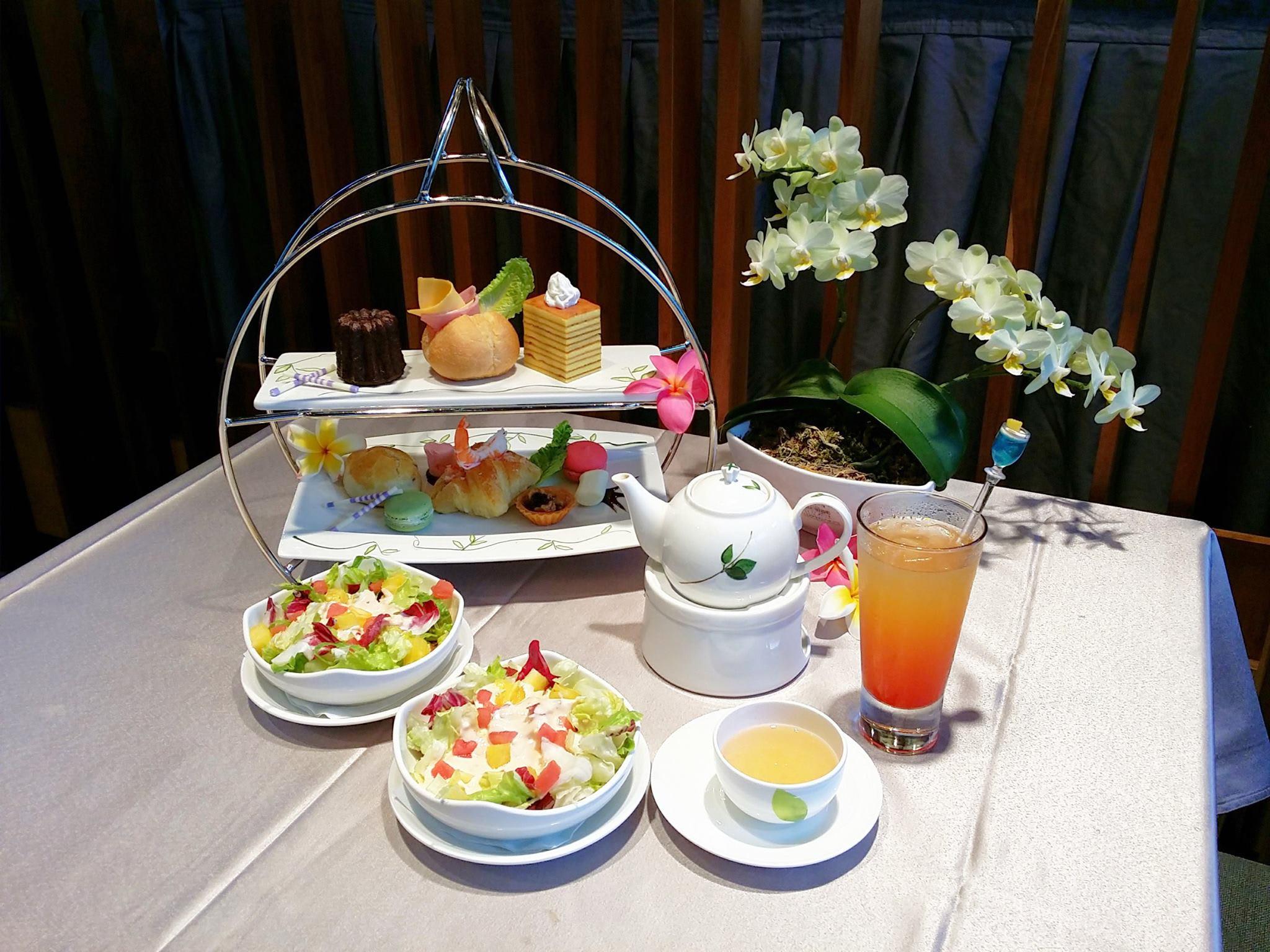 下午茶套餐。(圖片來源/泰安觀止溫泉會館FB粉絲團)