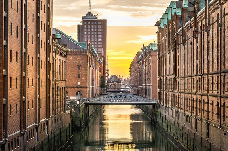 倉庫城Speicherstadt(照片來源:Pixabay)
