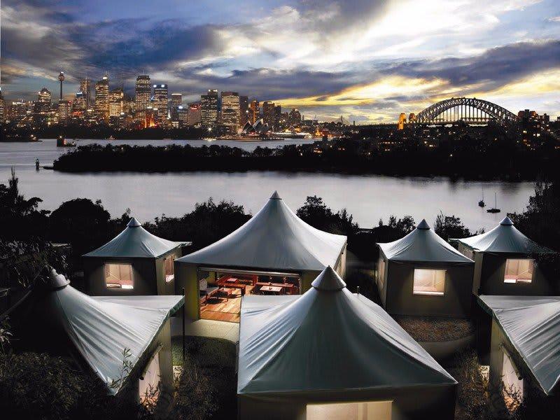 入住特殊設計的遊獵帳篷,享受在野外露營的難得體驗。(圖片來源/httpsgoo.glck264f)