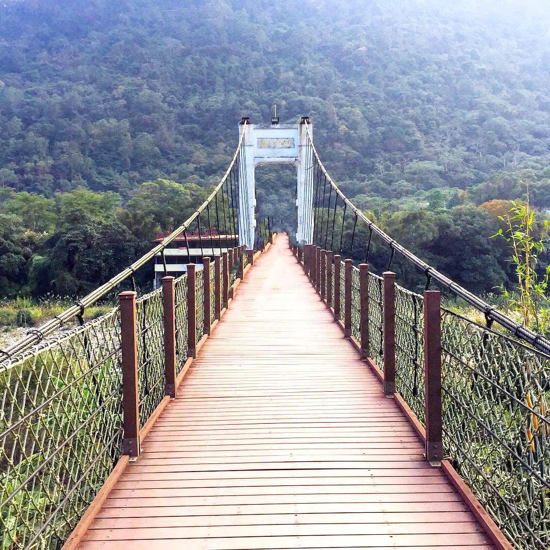 內灣吊橋。(圖片來源/Instagram-qian_s_photo)