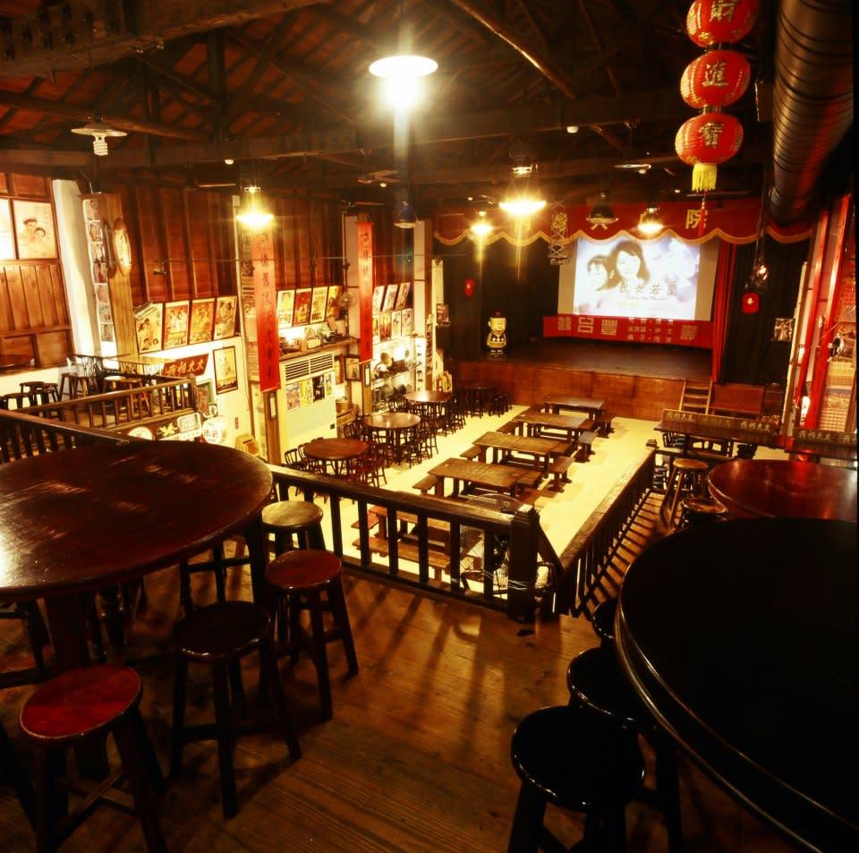 內灣戲院人文客家菜館。(圖片來源/內灣戲院人文客家菜館FB粉絲團)