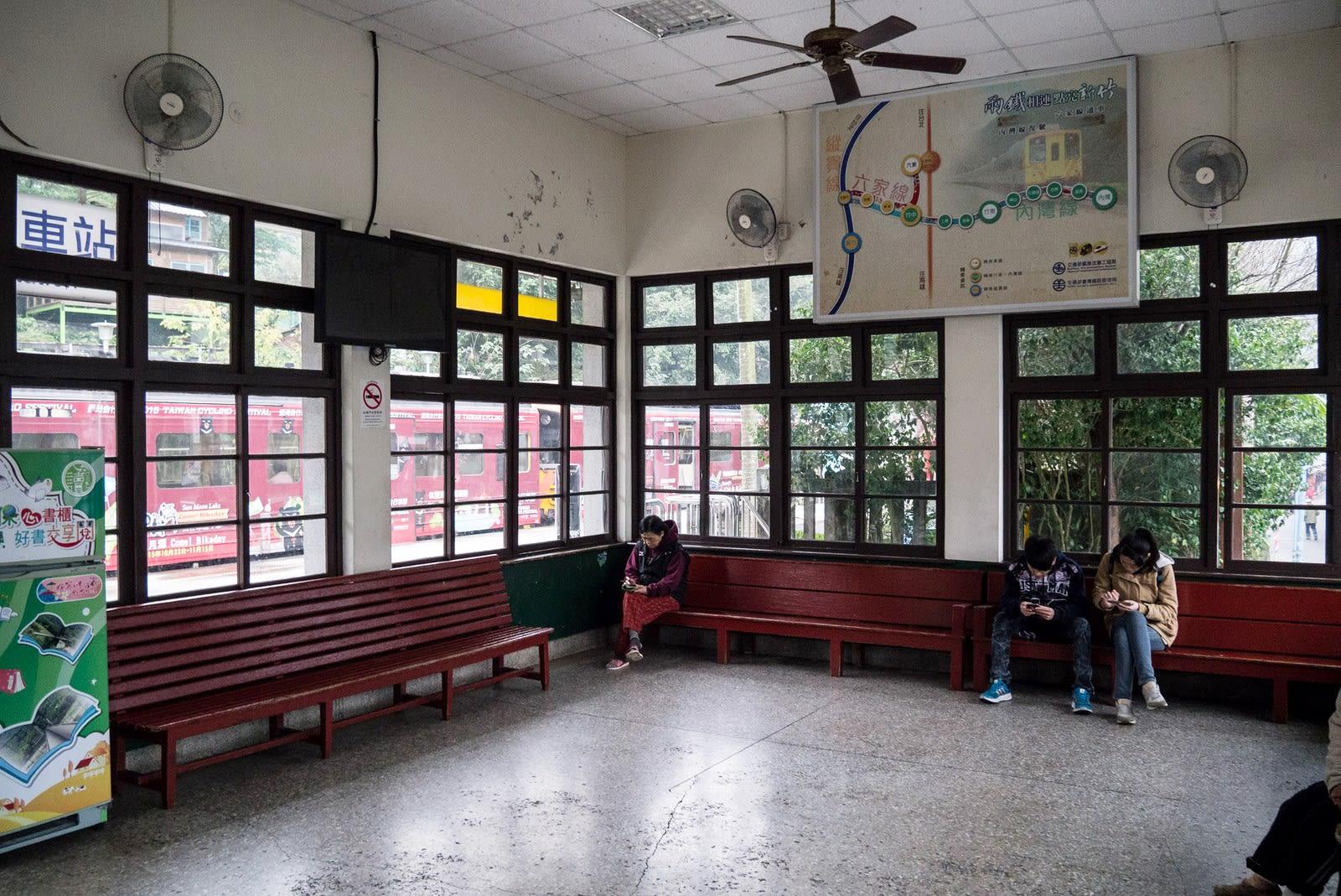 內灣車站。(Flickr授權作者-billy1125)