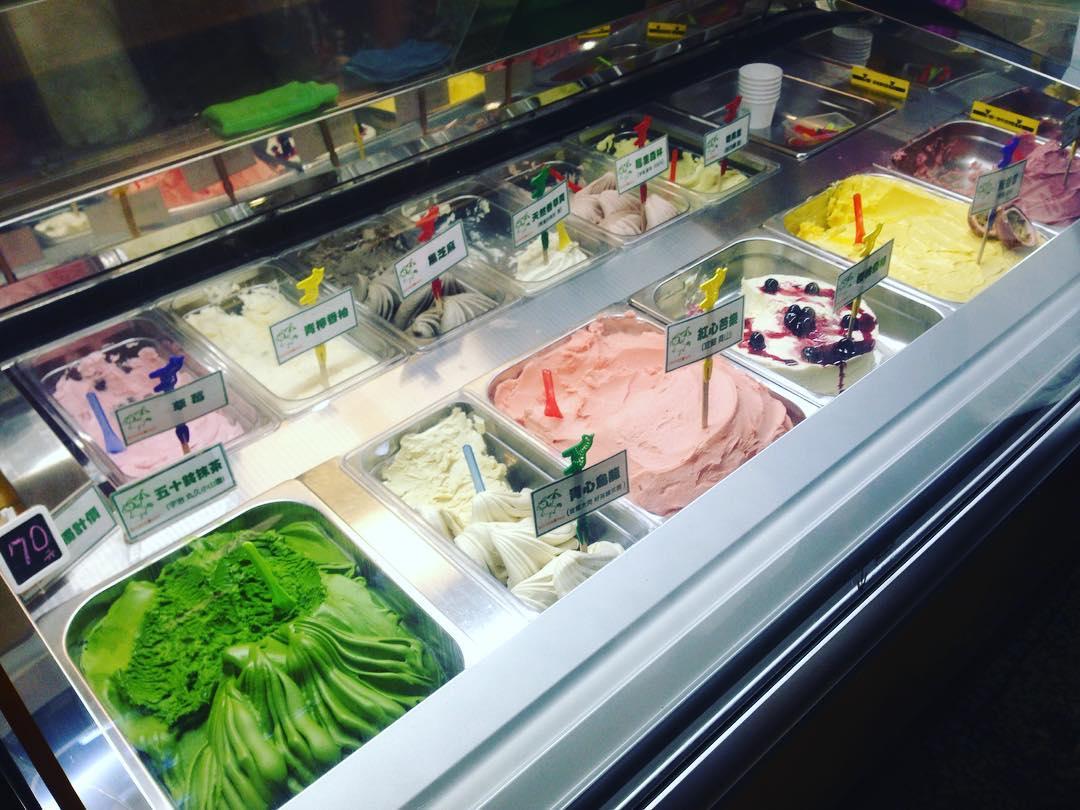 冰淇淋口味豐富多樣。(圖片來源/Instagram-hsiang0720)