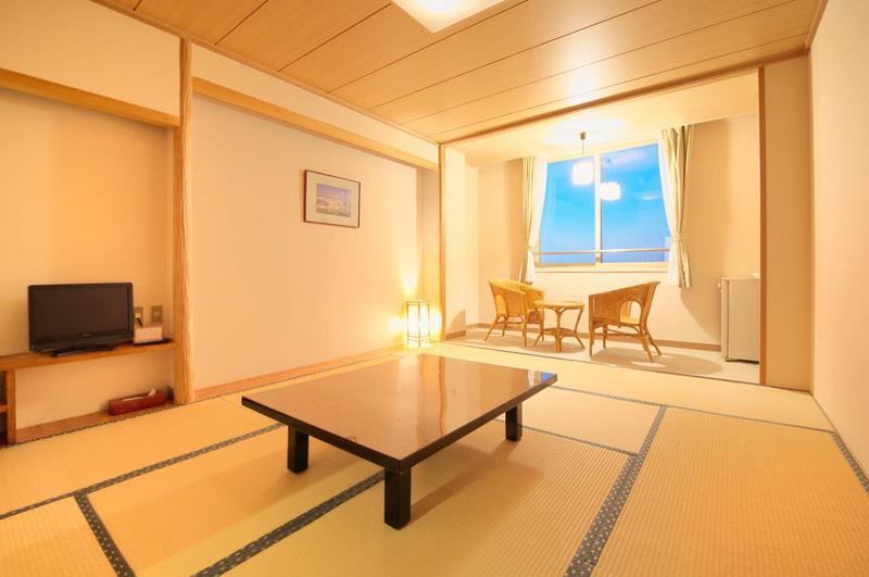 和室房(照片來源:Hotel Kahantei官網http://www.kahantei.com/)