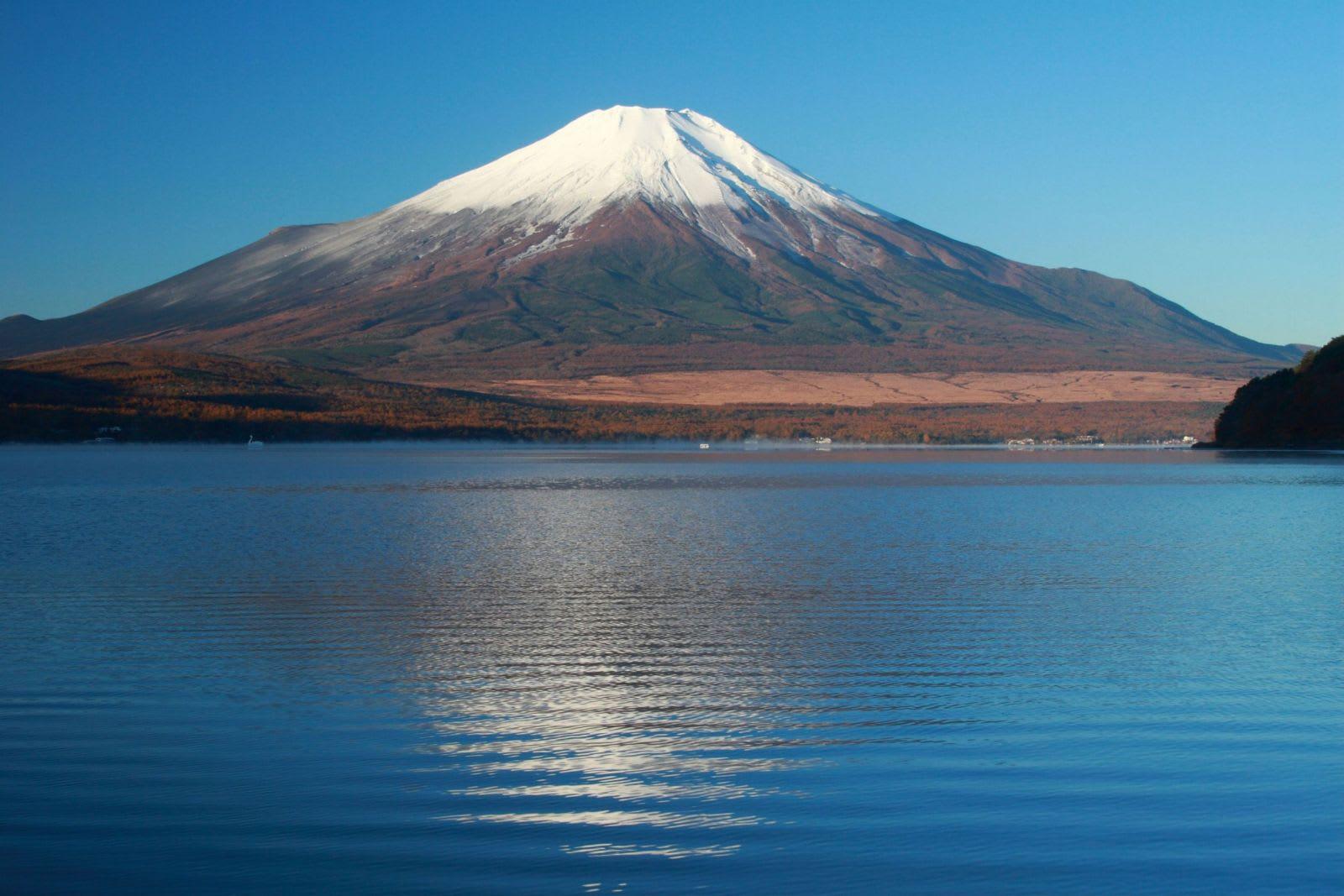 Pokemon Go日本 文 化 遺 產 , 富 士 山 (圖片來源:http://goo.gl/xZLs7F)