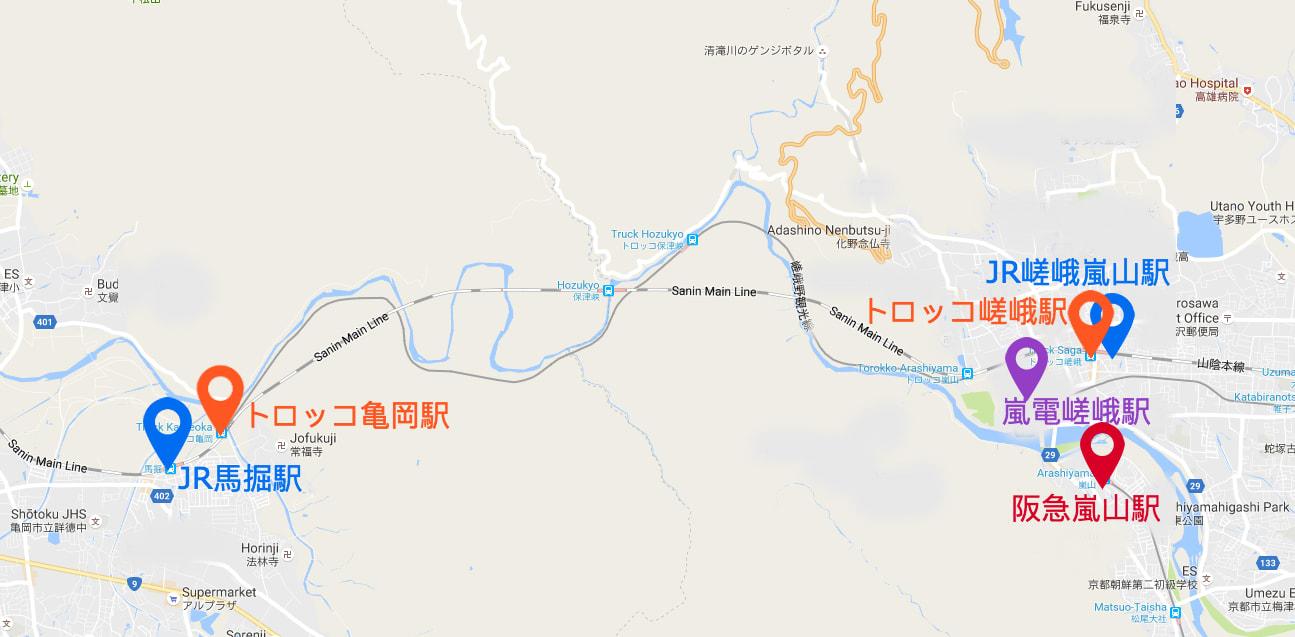 嵐山一日攻略 嵐 山 賞 楓 路 線 與 站 名