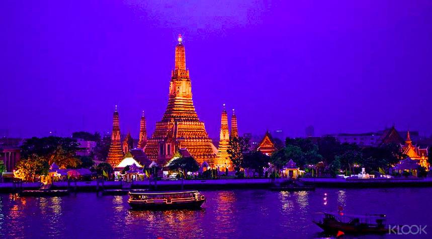 曼谷夜遊湄南河