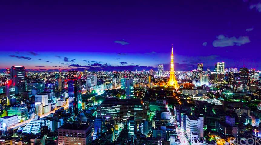東京直升飛機遨遊之旅