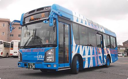 東武巴士-晴空塔穿梭巴士|來源:www.tobu-bus.com