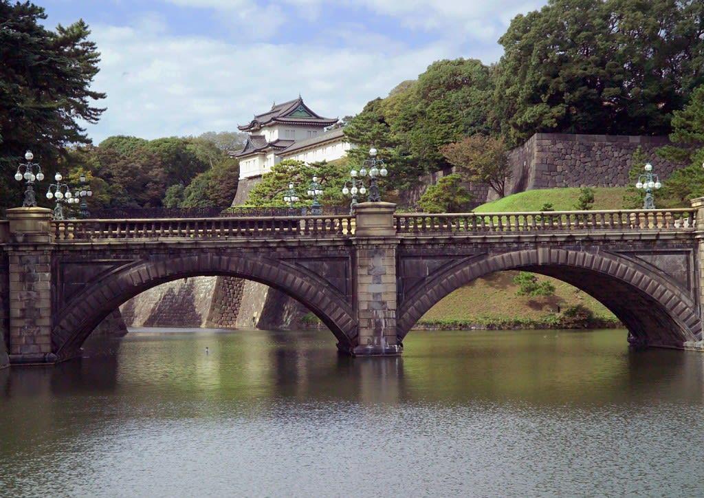 千 代 田 皇 居 二 重 橋 , 日 本 的 精 神 象 徵 寶 地
