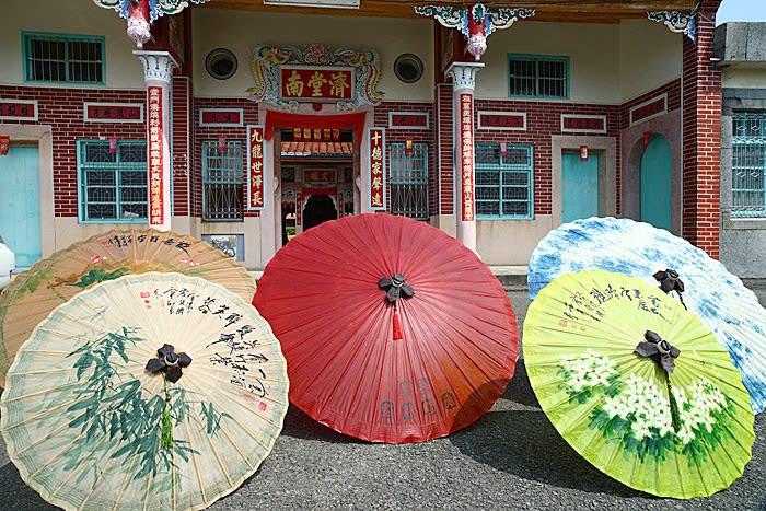 美濃廣進勝紙傘。(圖片來源/台灣寶島影像)