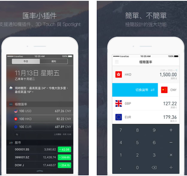 旅遊app 輕 鬆 換 算 各 國 貨 幣