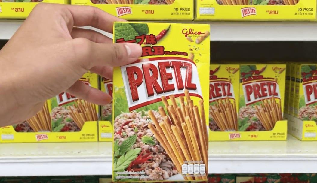 打 拋 豬 口 味 Pretz