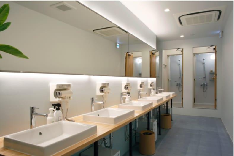 乾 淨 明 亮 的 衛 浴 設 備 。 圖 片 來 源 : 官 網