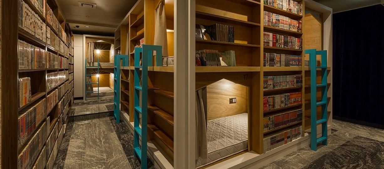 住宿空間。|圖片來源:コミカプ官網