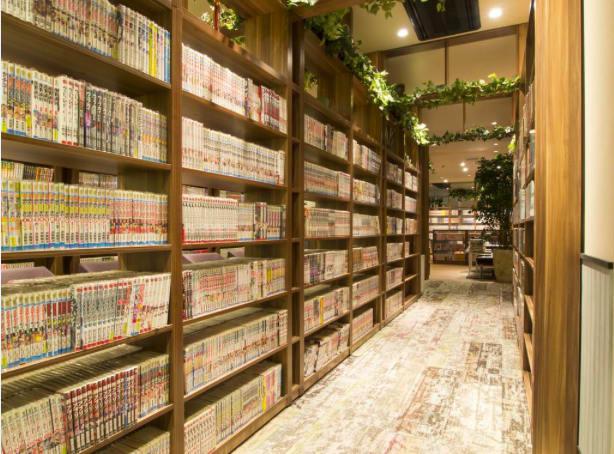 住宿空間。|圖片來源:コミカプ官網 「 漫畫膠囊旅館 」
