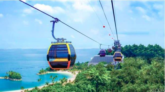 交通:由海港城地鐵站外的纜車中心、聖淘沙內英比奧站或者花柏山山頂搭乘。
