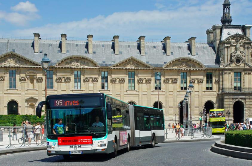法國巴黎Bus photo by wiki