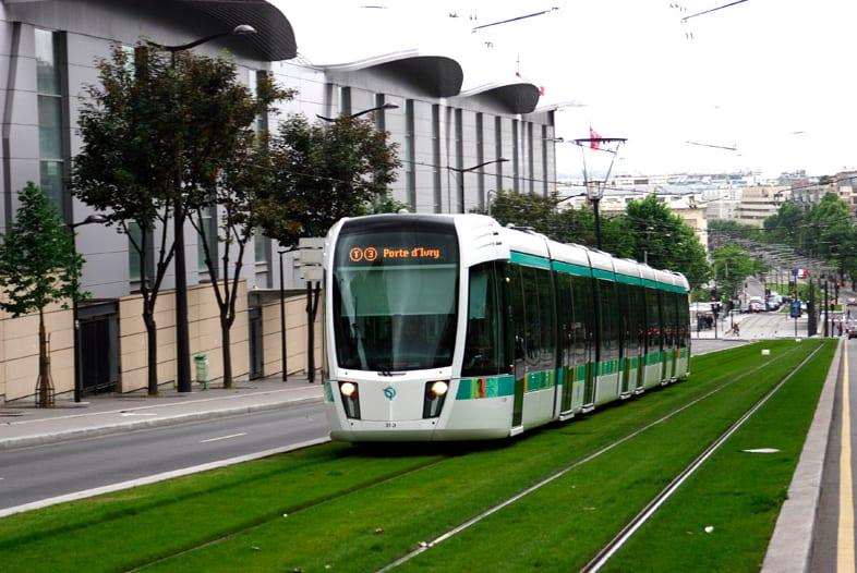 法國巴黎Tram photo by trekearth