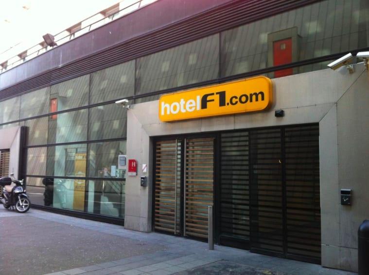 法國巴黎位於第14區的巴黎沙蒂永門F1酒店之外觀 photo by Booking.com