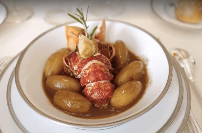 法國巴黎餐廳—L'AMBROSIE 主菜 photo by Ginger X