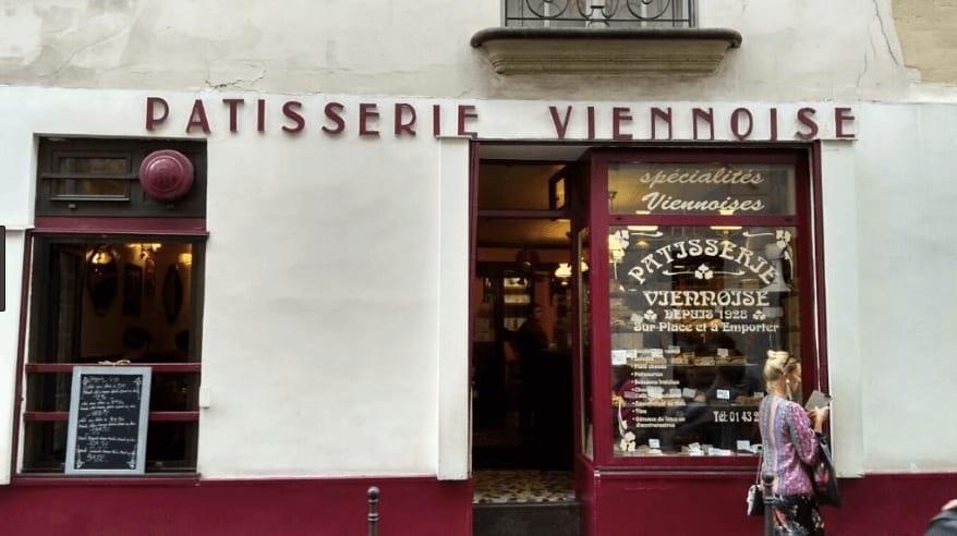 法國巴黎甜點店—Pâtisserie Viennoise 外觀 photo by fr.mappy.com
