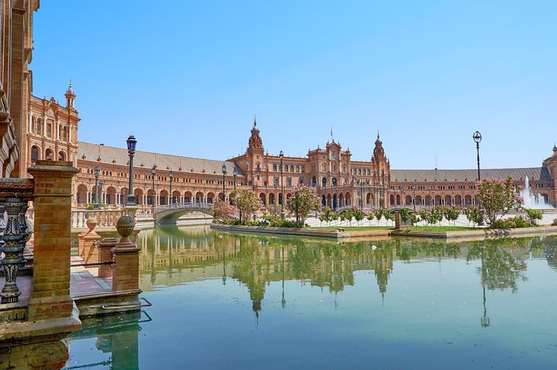 西班牙廣場Plaza de España (照片來源:Pixabay)