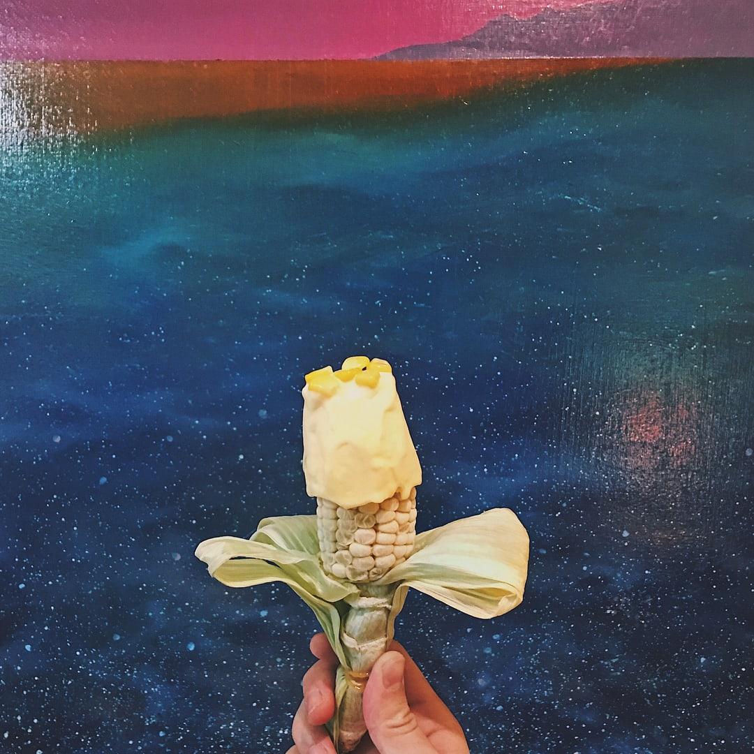 金黃玉米冰淇淋。(圖片來源/Instagram-iheartangelyin)