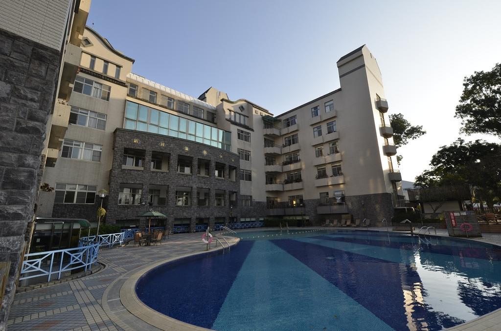 露天SPA泳池。(圖片來源/Booking.com)