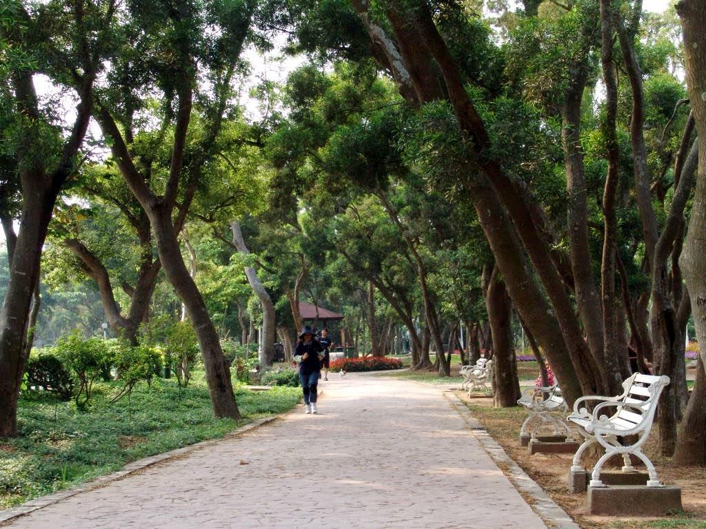 風景區內的遊園步道。(圖片來源/台中觀光旅遊網)