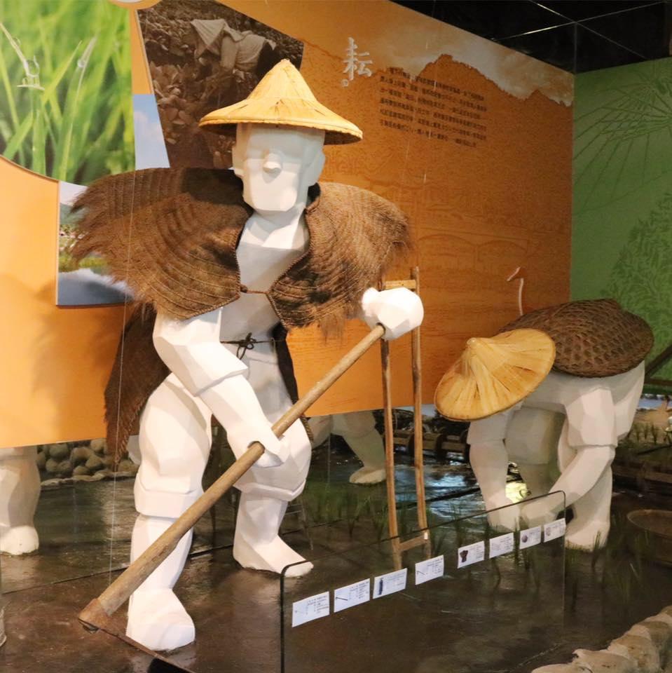 館內展示許多客家歷史文物。(圖片來源/美濃客家文物館FB粉絲團)