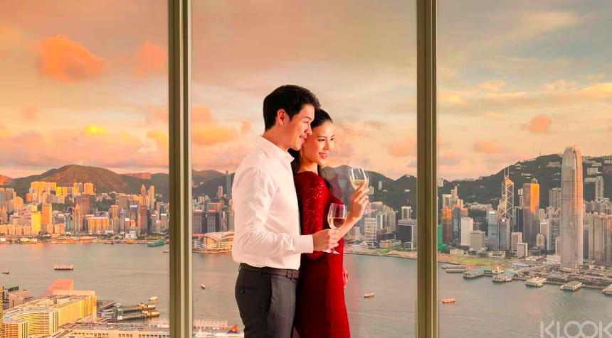 香港Sky100美味茶點