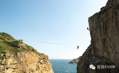 穿 梭 在 岩 石 間 , 挑 戰 你 的 極 限 。