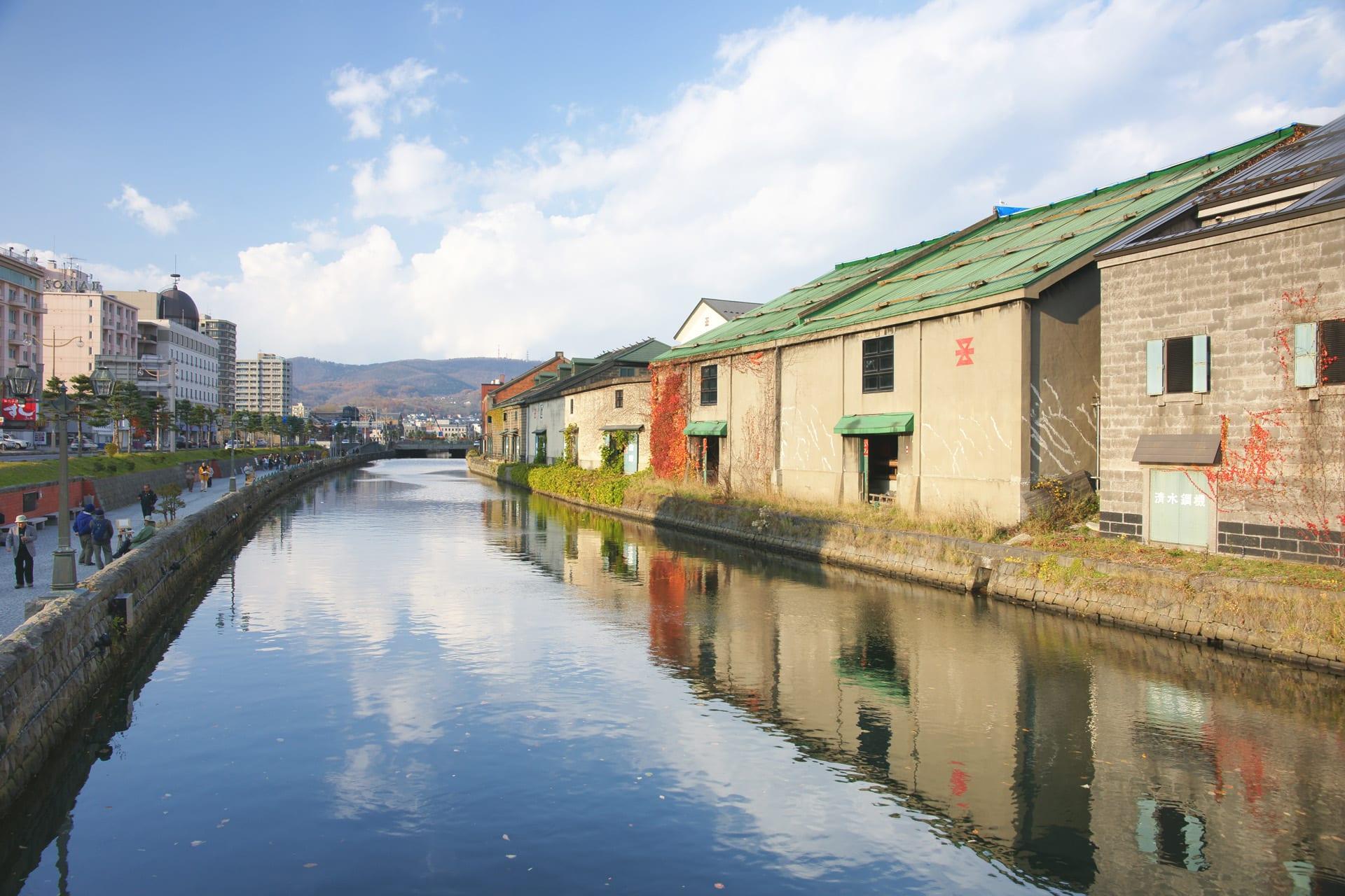 小 樽 運 河