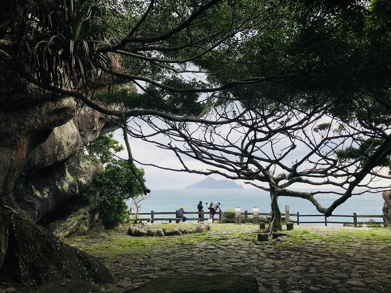 北關海潮公園是遠眺龜山島的絕佳地點!