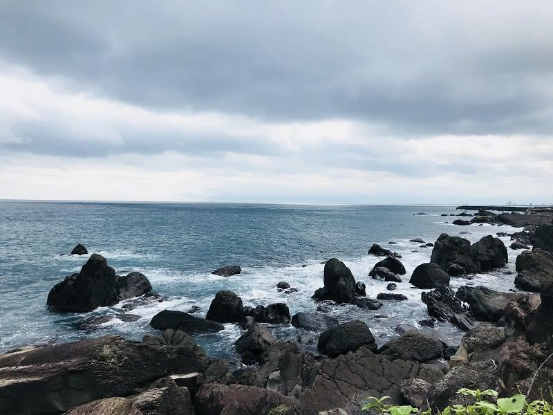一望無際的海讓人心曠神怡!