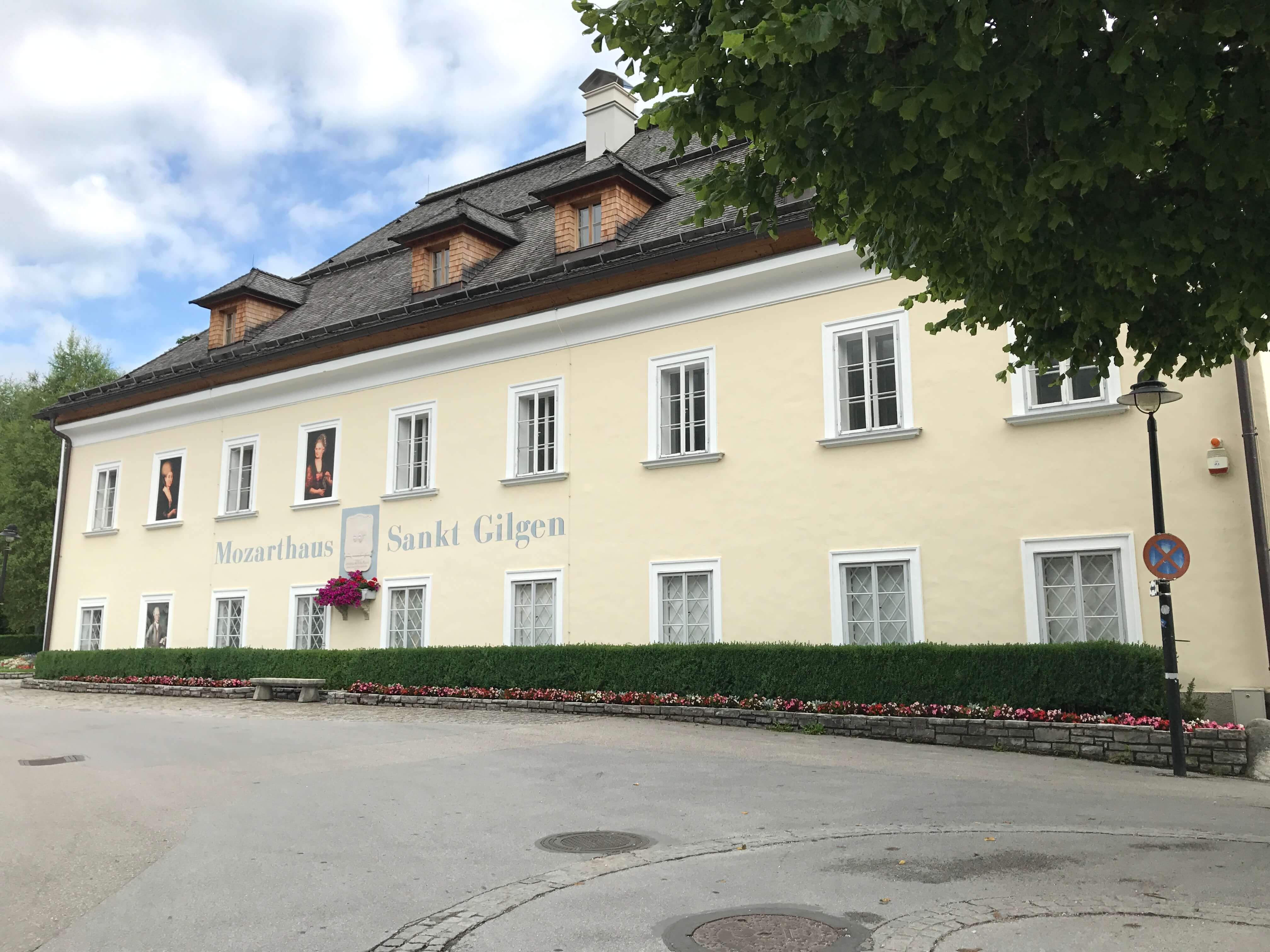 莫札特母親出生的房子現在成為莫札特紀念館。Photographer / Penny