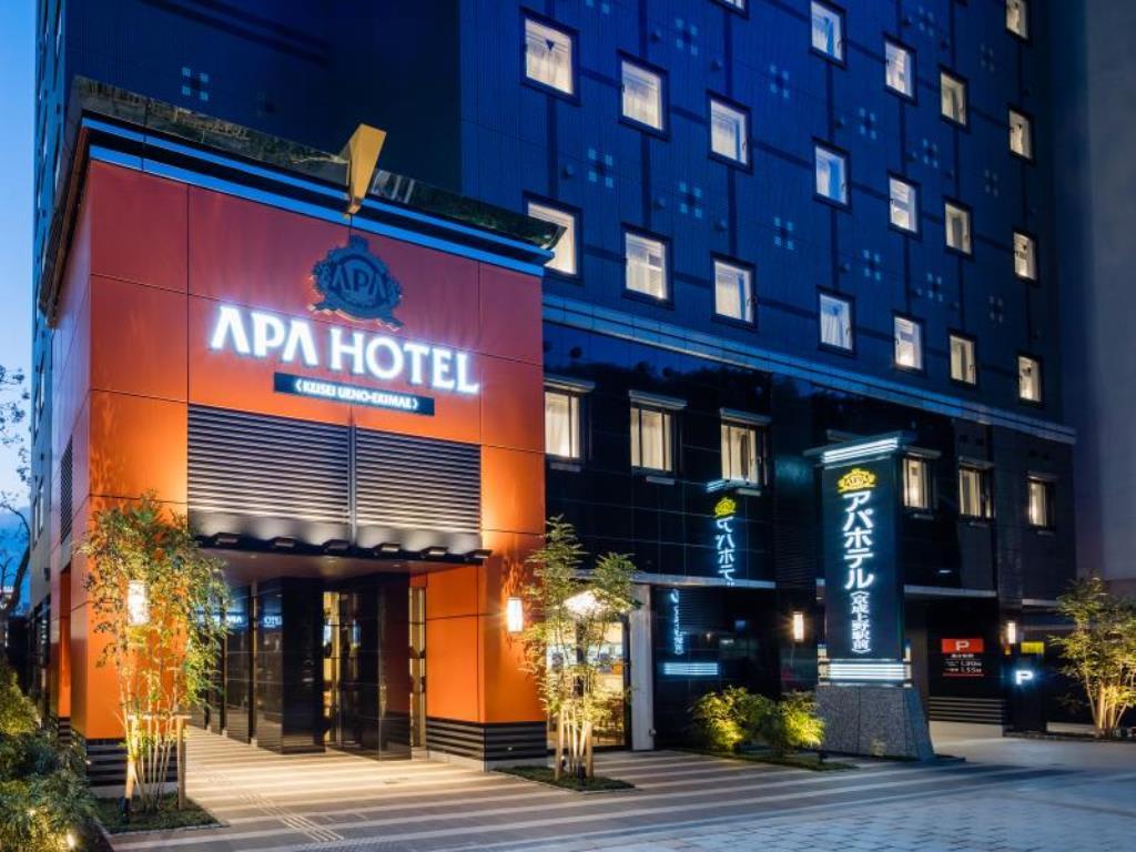 APA飯店-京成上野站前外觀|來源:agoda