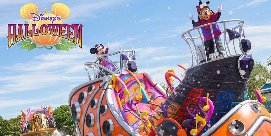 東京迪士尼即將到來的萬聖節遊行。|來源:www.tokyodisneyresort.jp