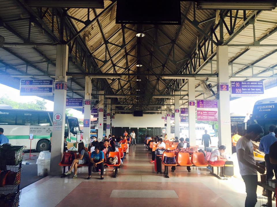 清 萊 巴 士 站 清邁到清萊交通攻略