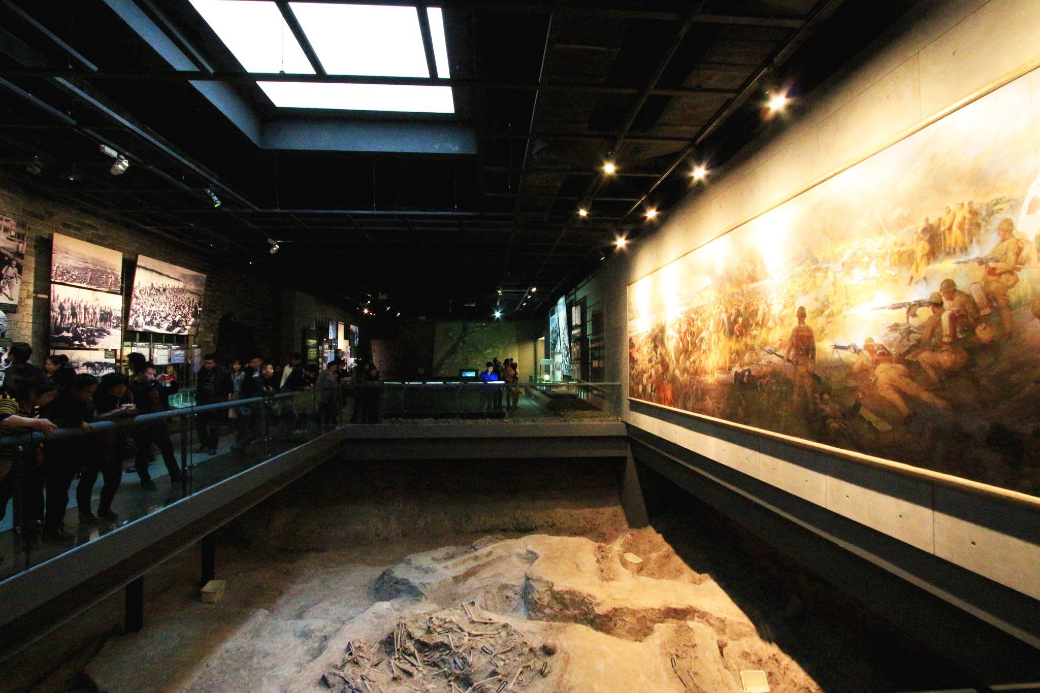 ( 南 京 大 屠 殺 博 物 館 訴 說 著 這 裡 過 去 的 一切 )
