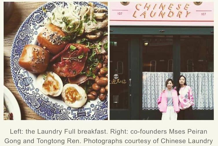 粉 紅 色 可 愛 的 餐 廳 招 牌,很 容 易 吸 引 路 過 的 每 個 人!