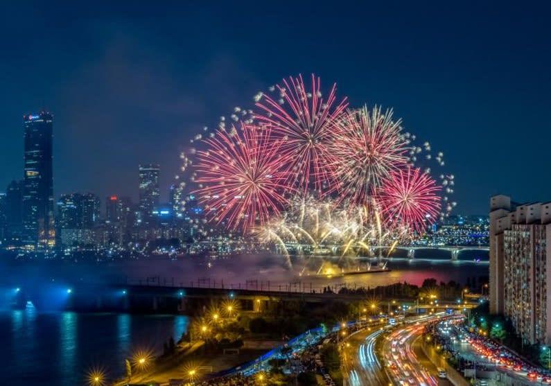 首爾世界煙火節。(圖片來源/首爾市官方旅遊網站)