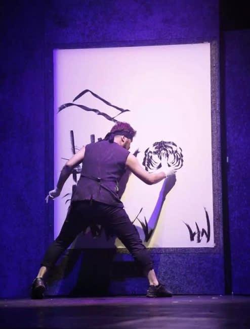 HERO彩繪塗鴉秀劇照。(圖片來源/Painters Hero粉絲團)